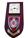 Royal Engineers Regimental Wall Plaque Clock